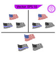 usa flag distressed american flag commercial use vector image
