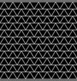 white triangle japanese seamless on black vector image vector image