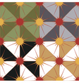 seamless geometric background in 4 color options vector image
