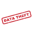 Data Theft Text Rubber Stamp vector image vector image