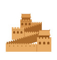 great wall of china vector image