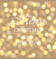 happy new year and christmas greeting card vector image vector image