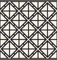 seamless pattern with squares stylish vector image vector image