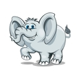 Smiling elephant vector image