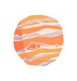 jupiter planet cartoon vector image