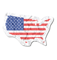 America map vector image