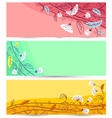 banners set vector image vector image