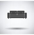 Cinema sofa icon vector image vector image