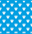 diaper pattern seamless blue vector image