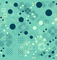 faded geometric seamless pattern vector image vector image