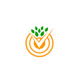 healthy holistic center vector image
