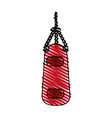 heavy bag vector image vector image