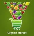Market vector image vector image