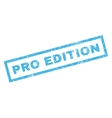 Pro Edition Rubber Stamp vector image