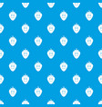 ripe smiling strawberry pattern seamless blue vector image vector image
