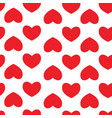 seamless pattern with hearts background of hearts vector image