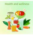 Wellness vector image vector image