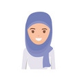 arab woman cartoon vector image vector image