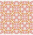 Art deco pattern with organic floral shapes vector image vector image