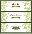 Branch with raw olive berry and leaf sketch vector image