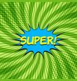 comic elegant bright concept vector image vector image