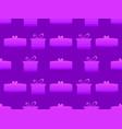 gift box seamless pattern shades of purple vector image