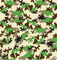 Military pattern2 resize vector image