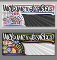 vouchers for las vegas vector image vector image