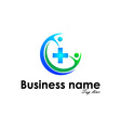 Abstract Business Identity vector image vector image