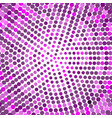abstract purple dotted background halftone dots vector image