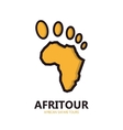 Africa logo vector image vector image