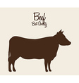 beef cow vector image vector image