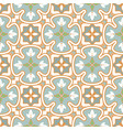 blue and green pattern portuguese tile seamless vector image