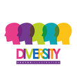 Diversity people design eps 10 vector image vector image