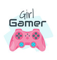 gamer slogan for apparel design vector image vector image