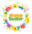 Happy easter greeting