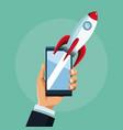 online start up business vector image vector image