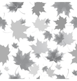 seamless background pattern autumn leaves vector image