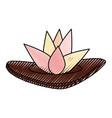spa lotus symbol vector image vector image