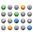 Stencil round buttons for business vector | Price: 1 Credit (USD $1)