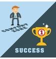 Success people cartoon design