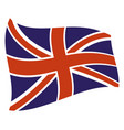 uk country flag icon vector image vector image