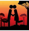 couple life design vector image vector image