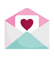 happy valentines day email letter romantic vector image vector image