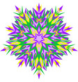 mehndi design ethnic binary vector image vector image