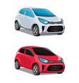 modern cars vector image