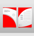 presentation templates elements on a white vector image