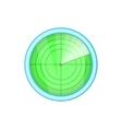 Radar icon cartoon style vector image vector image