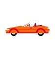 A sports car vector image vector image