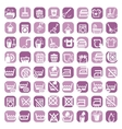 big color cleaning icons vector image vector image